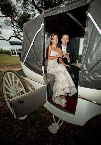Gum Gully Wedding Horse Drawn Carriage