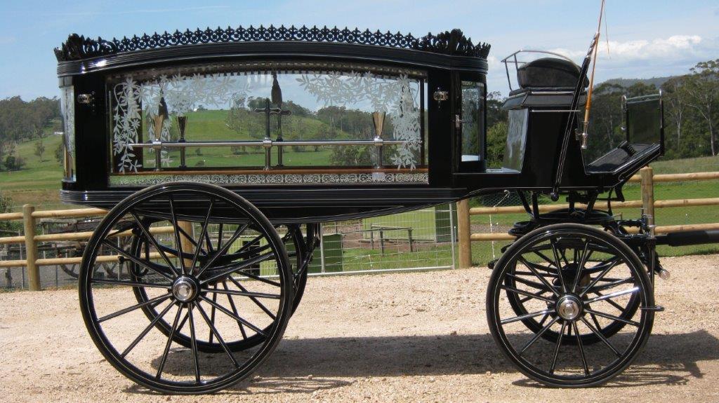 Funerals Horse drawn herse