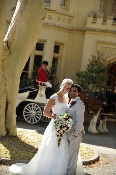 Morning Star Weddings Horse Drawn Carriage