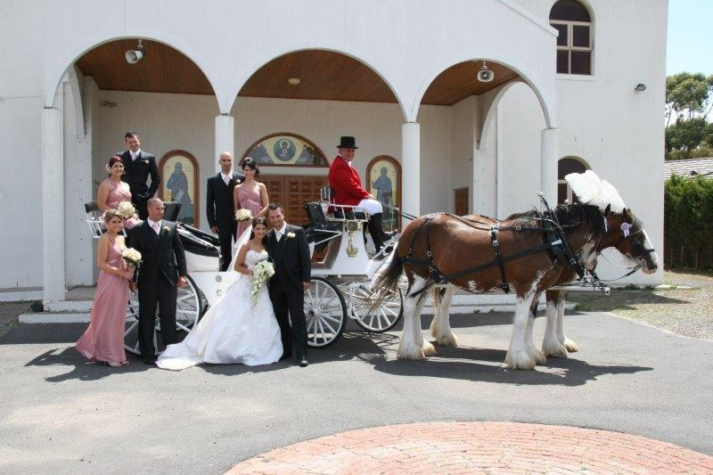 Red Hill Church Weddings Horse Drawn Carriage