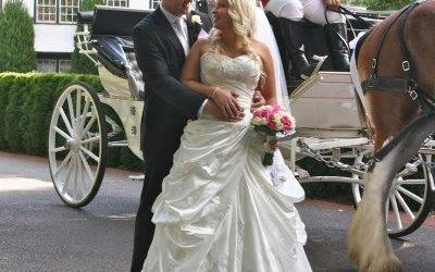 Marybrooke Manor Weddings Horse Drawn Carriage